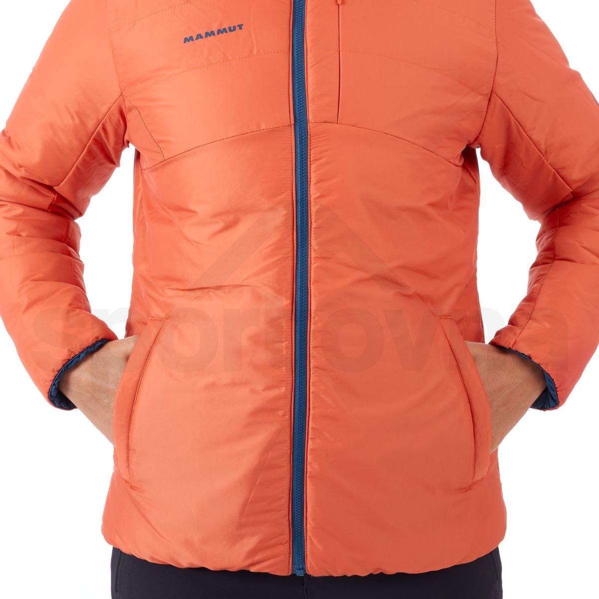 Bunda Mammut Whitehorn IN Jacket - modrá / oranžová