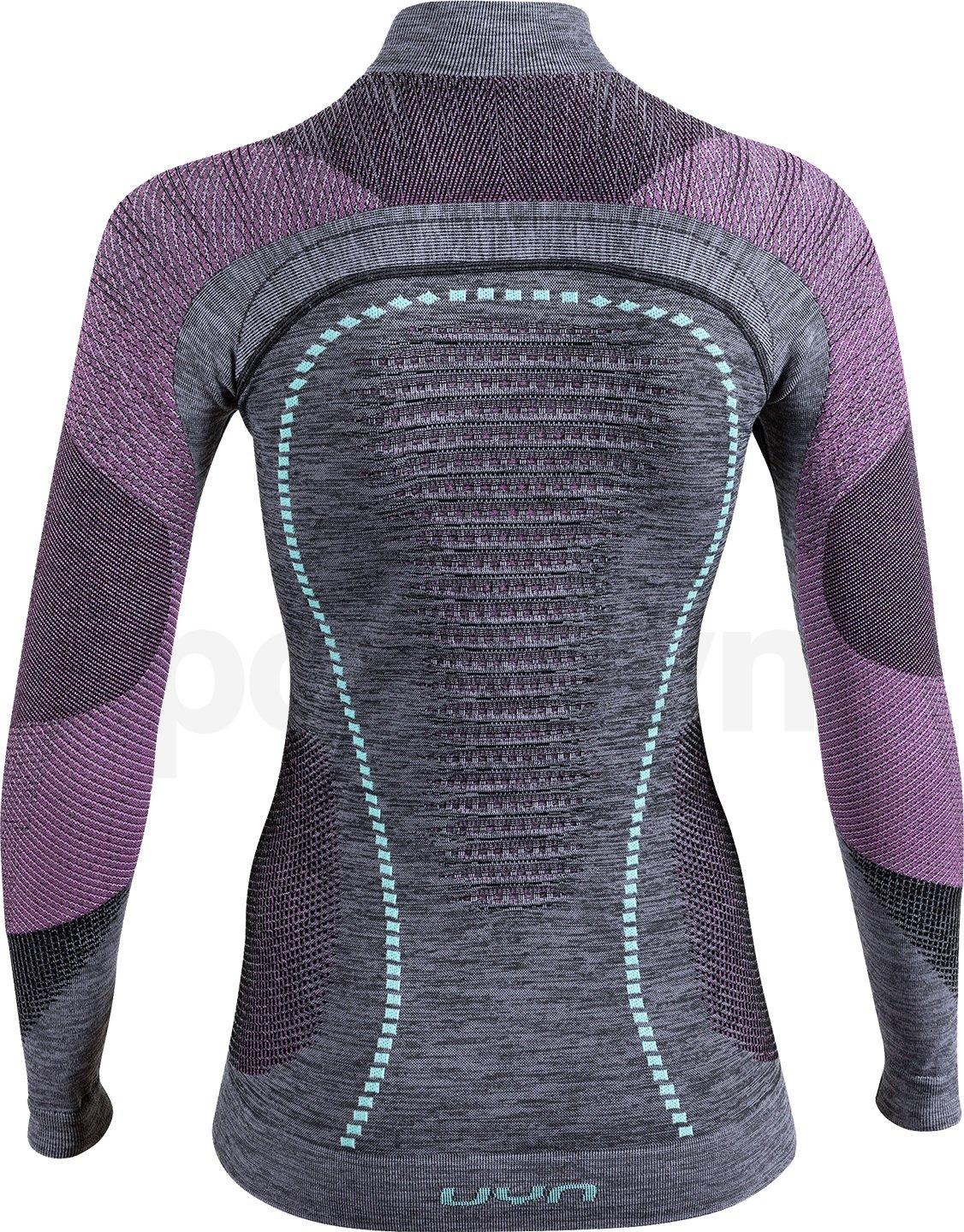 Funkční tričko Uyn Ambityon UW Shirt Long Sleeve W - šedá/černá/modrá