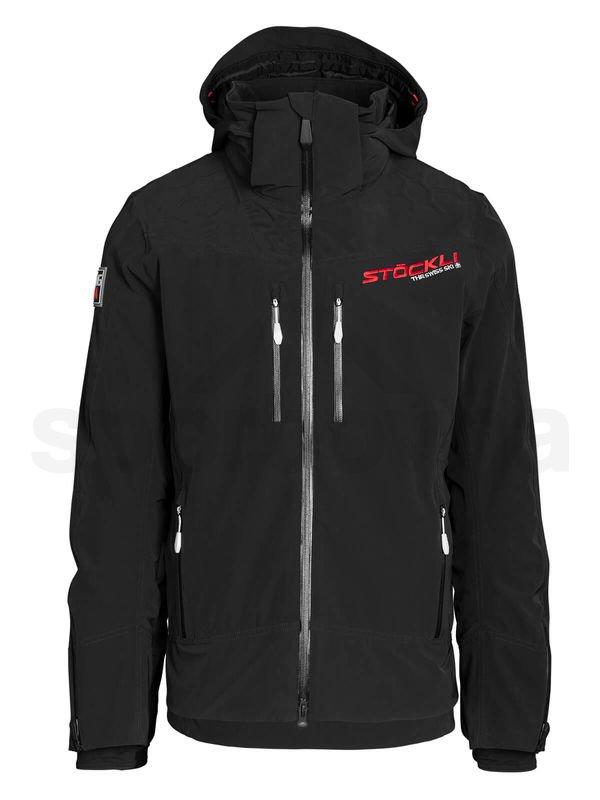 Panska lyzarska bunda Stockli Sport WRT Black 1