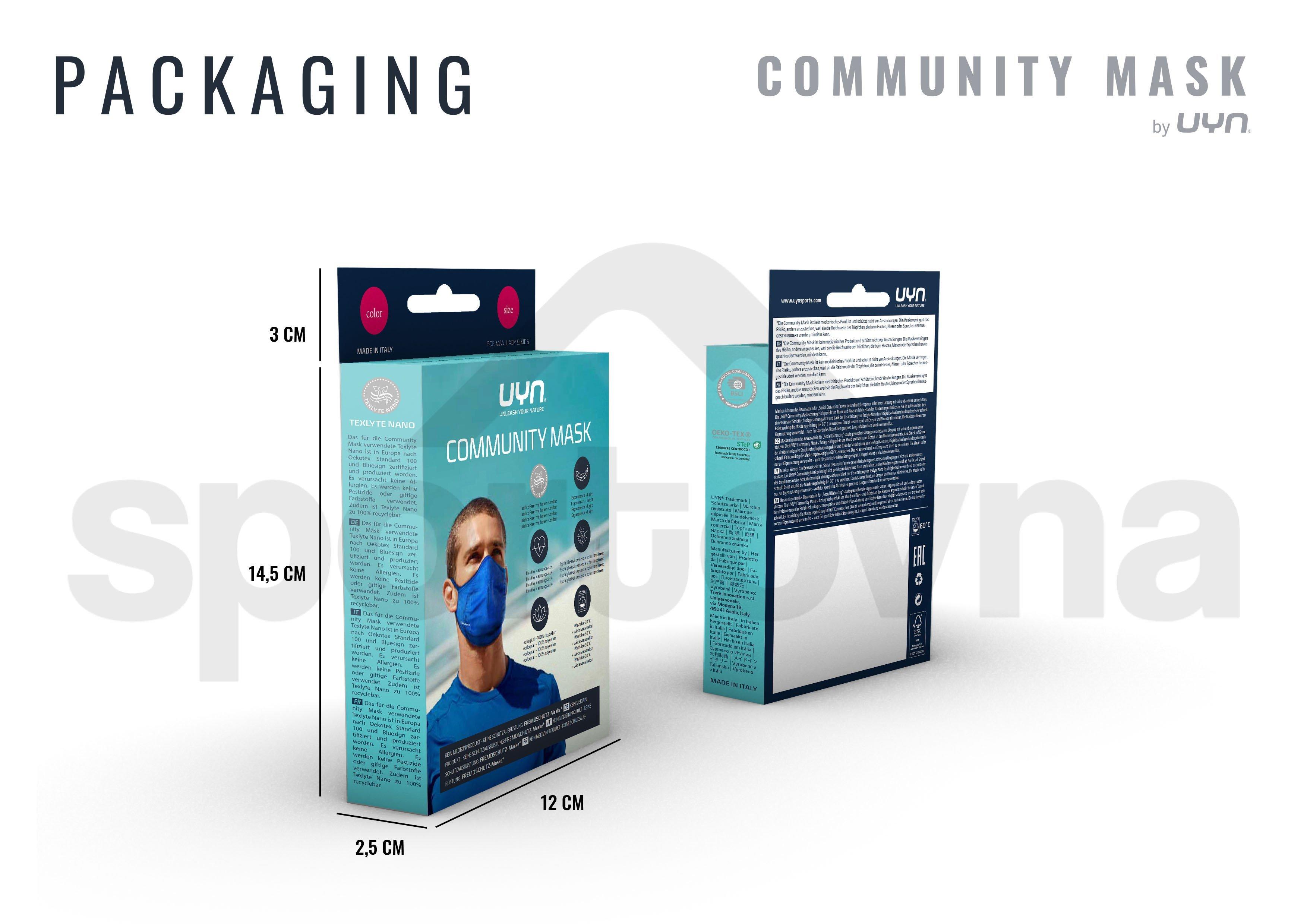 Dětská rouška UYN Community Mask - bílá