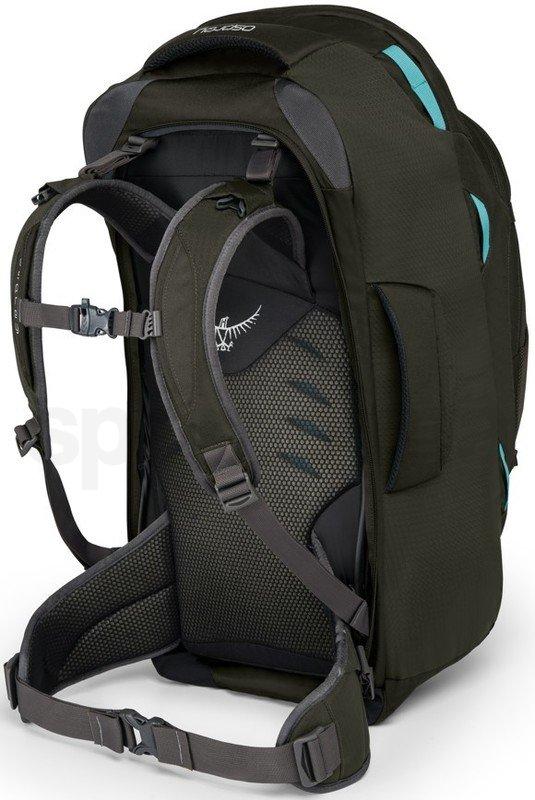 Cestovní taška Osprey Fairview 55 - šedá