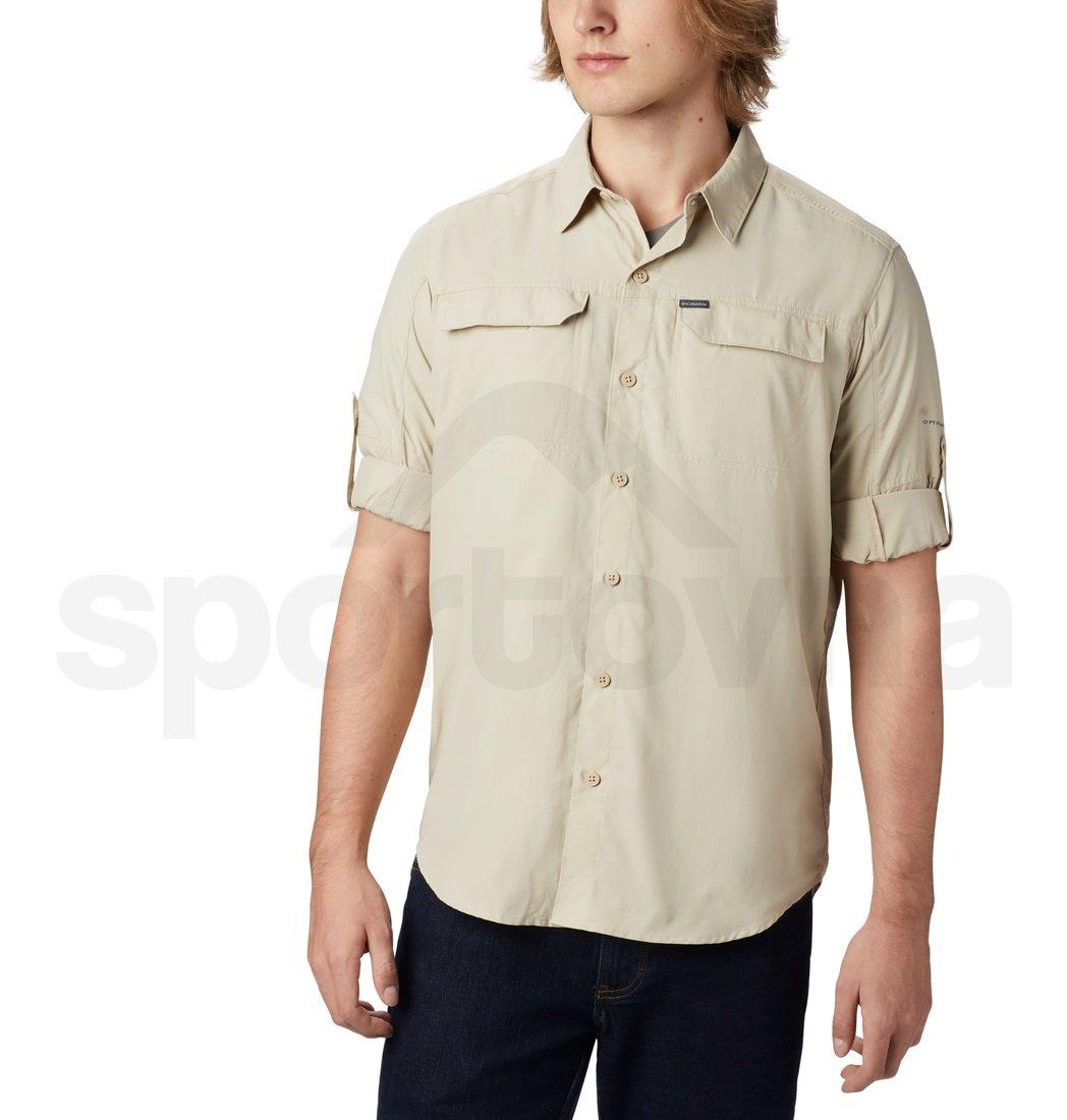 Košile Columbia Silver Ridge™2.0 LS Shirt M - béžová