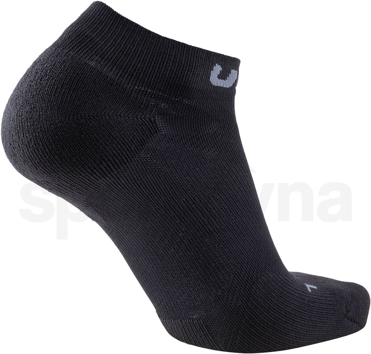 Ponožky UYN Trainer No Show Socks W - černá/šedá