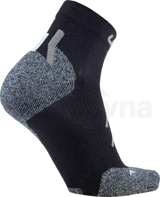 Ponožky UYN Trekking Approach Low Cut Socks M - šedá/zelená
