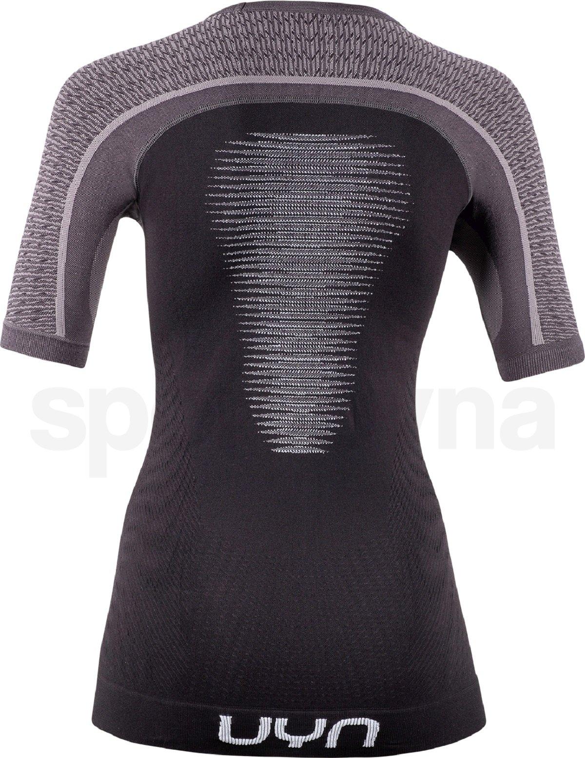 Funkční tričko UYN Marathon Ow Shirt Sh_Sl W - černá/šedá/bílá
