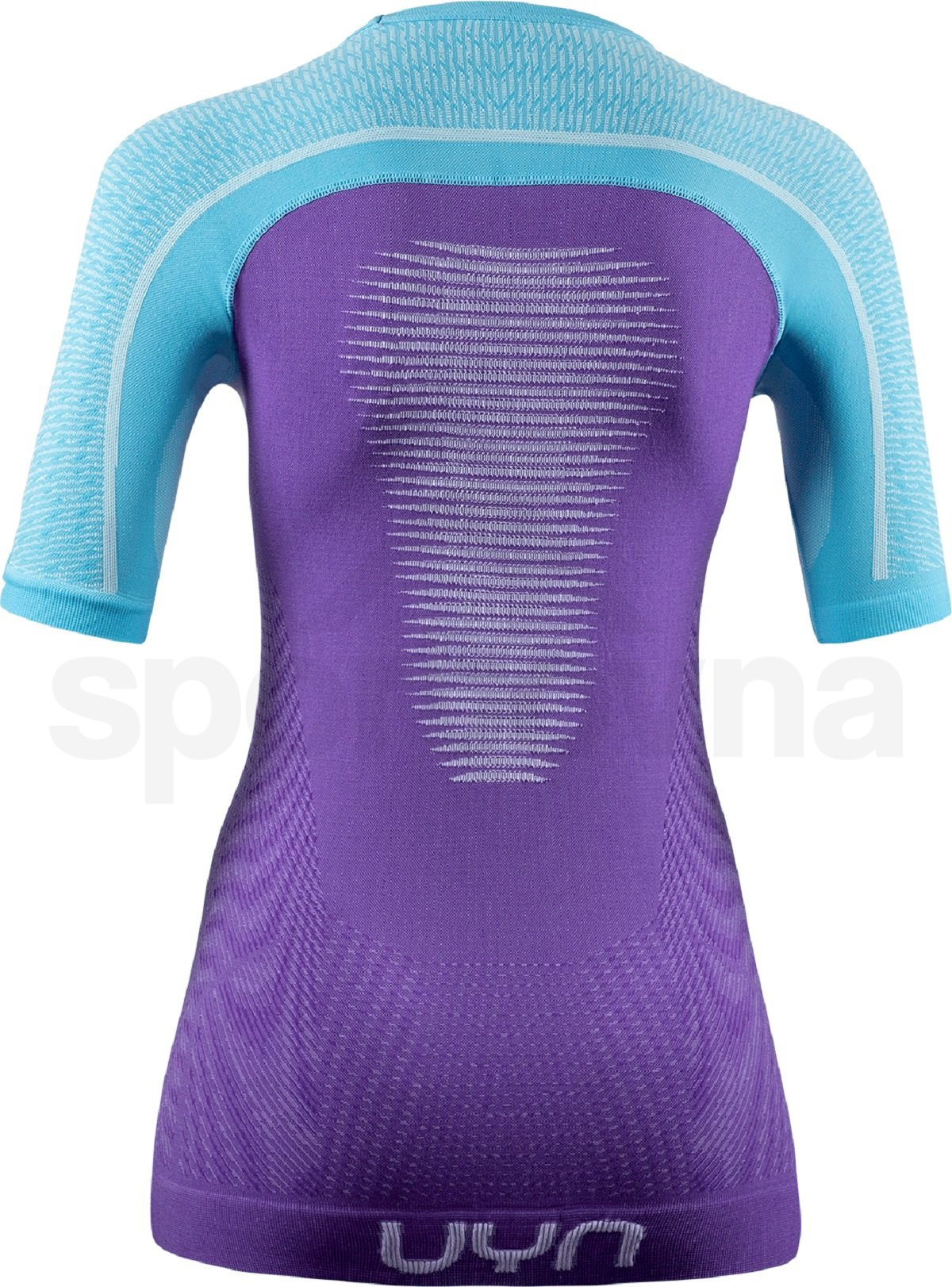 Funkční tričko UYN Marathon Ow Shirt Sh_Sl W - fialová/modrá/bílá