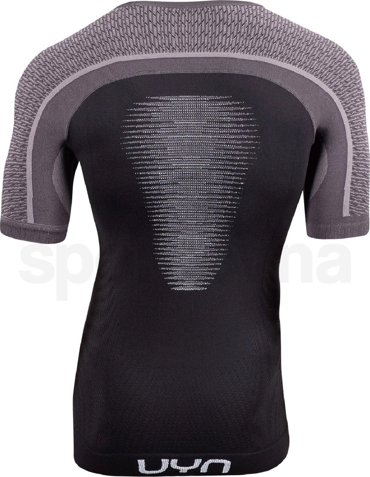 Funkční tričko UYN Marathon Ow Shirt Sh_Sl M - černá/šedá/bílá