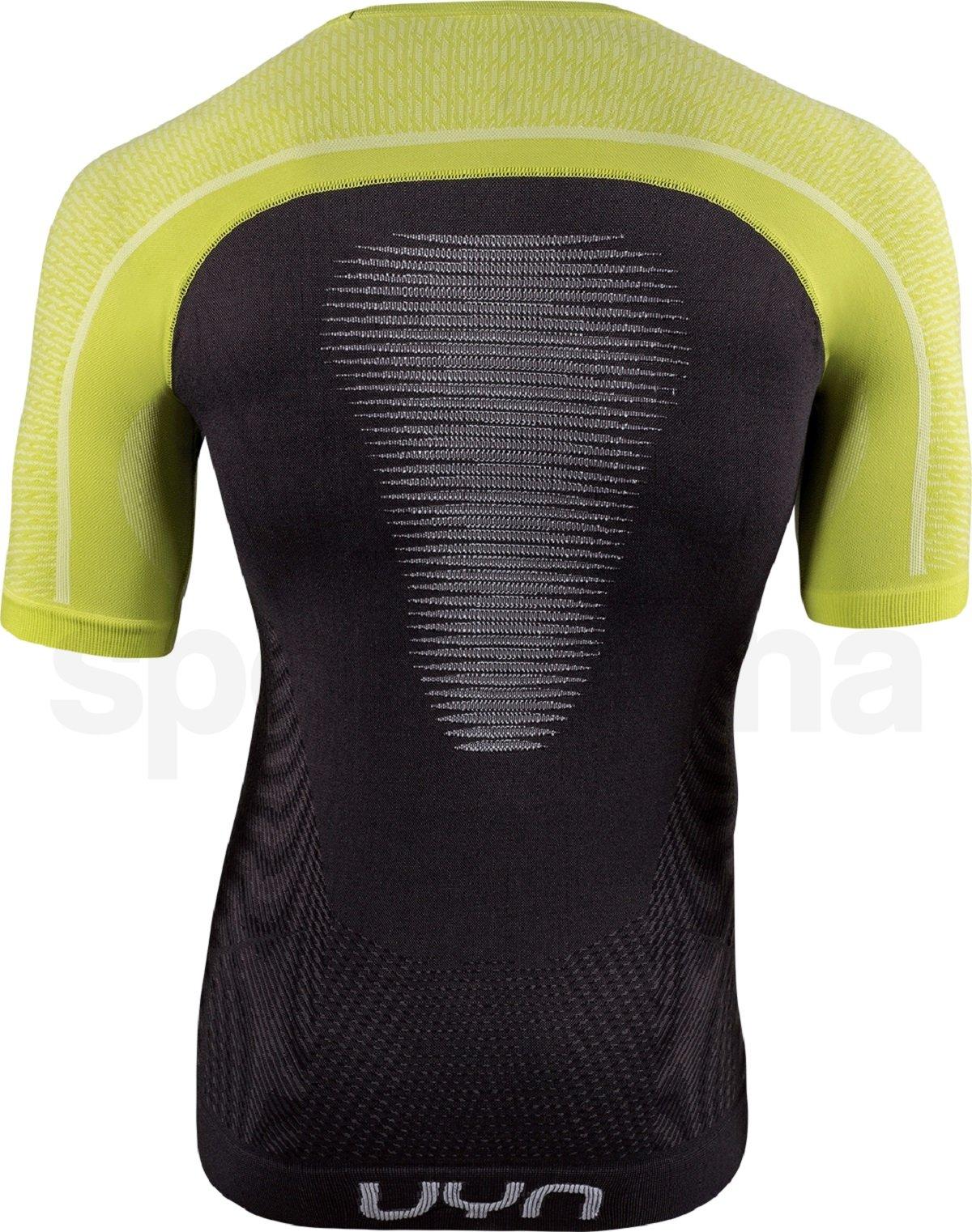 Funkční tričko UYN Marathon Ow Shirt Sh_Sl M - černá/žlutá/bílá