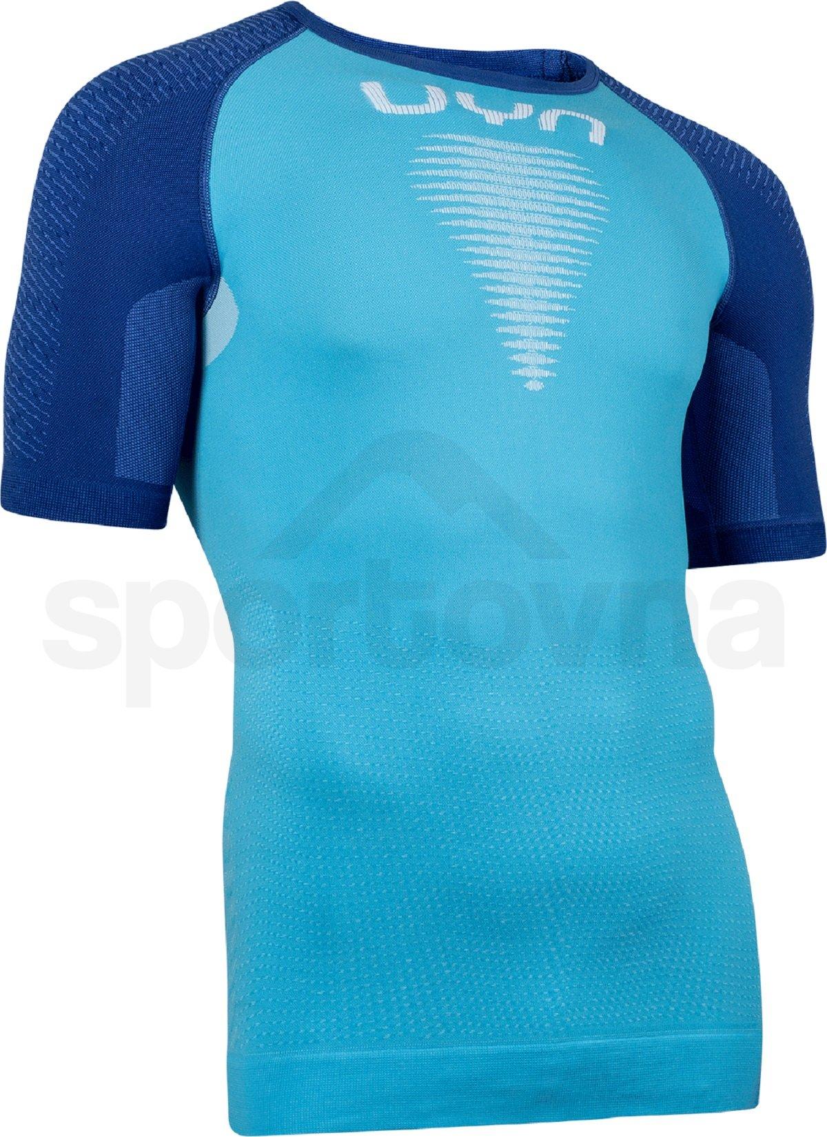 Funkční tričko UYN Marathon Ow Shirt Sh_Sl M - modrá/bílá