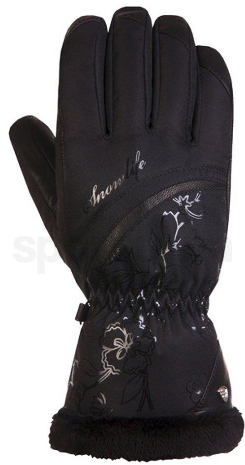 Damske lyzarske rukavice Snowlife Fairytale DT 029 Black