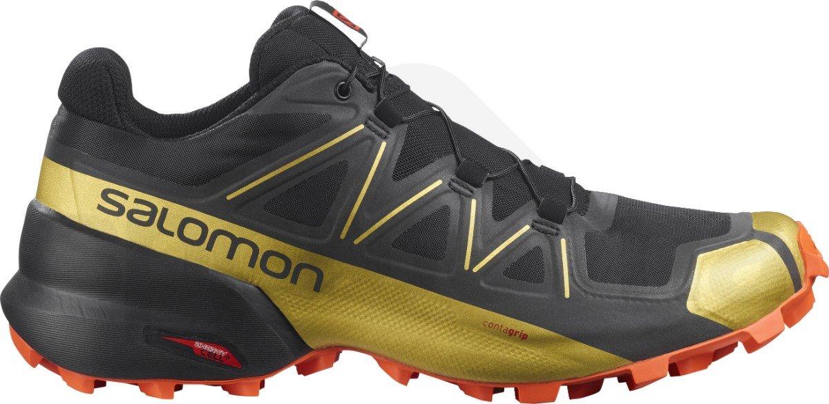 Obuv Salomon Speedcross 5 - černá/zlatá