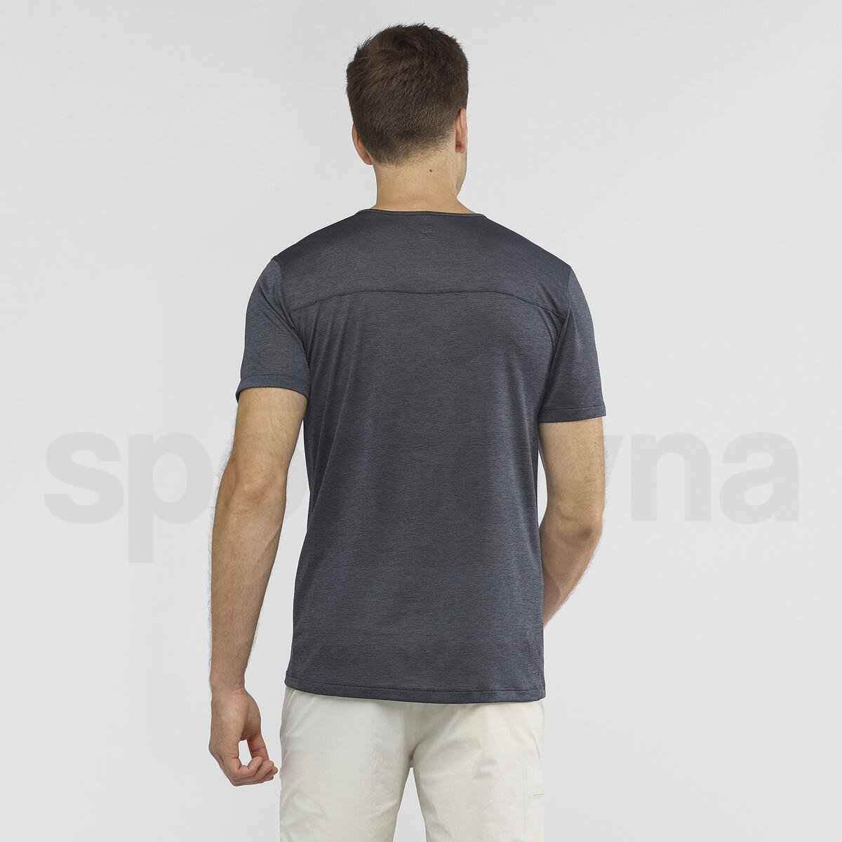Tričko Salomon COSMIC CREW SS TEE M - šedá