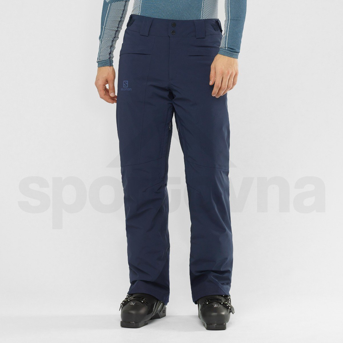 Kalhoty Salomon BRILLIANT PANT M - modrá