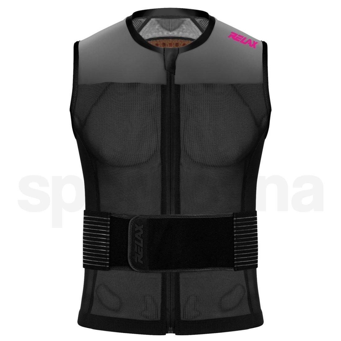 Chránič páteře Relax Speedmaster Evo ROP03C - černá/šedá