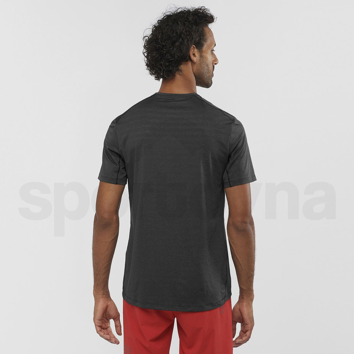 Tričko Salomon XA TEE M - černá