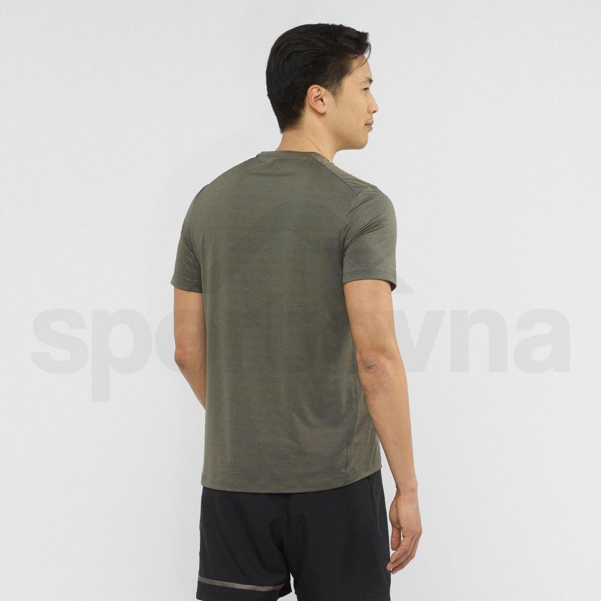 Tričko Salomon XA TEE M - zelená