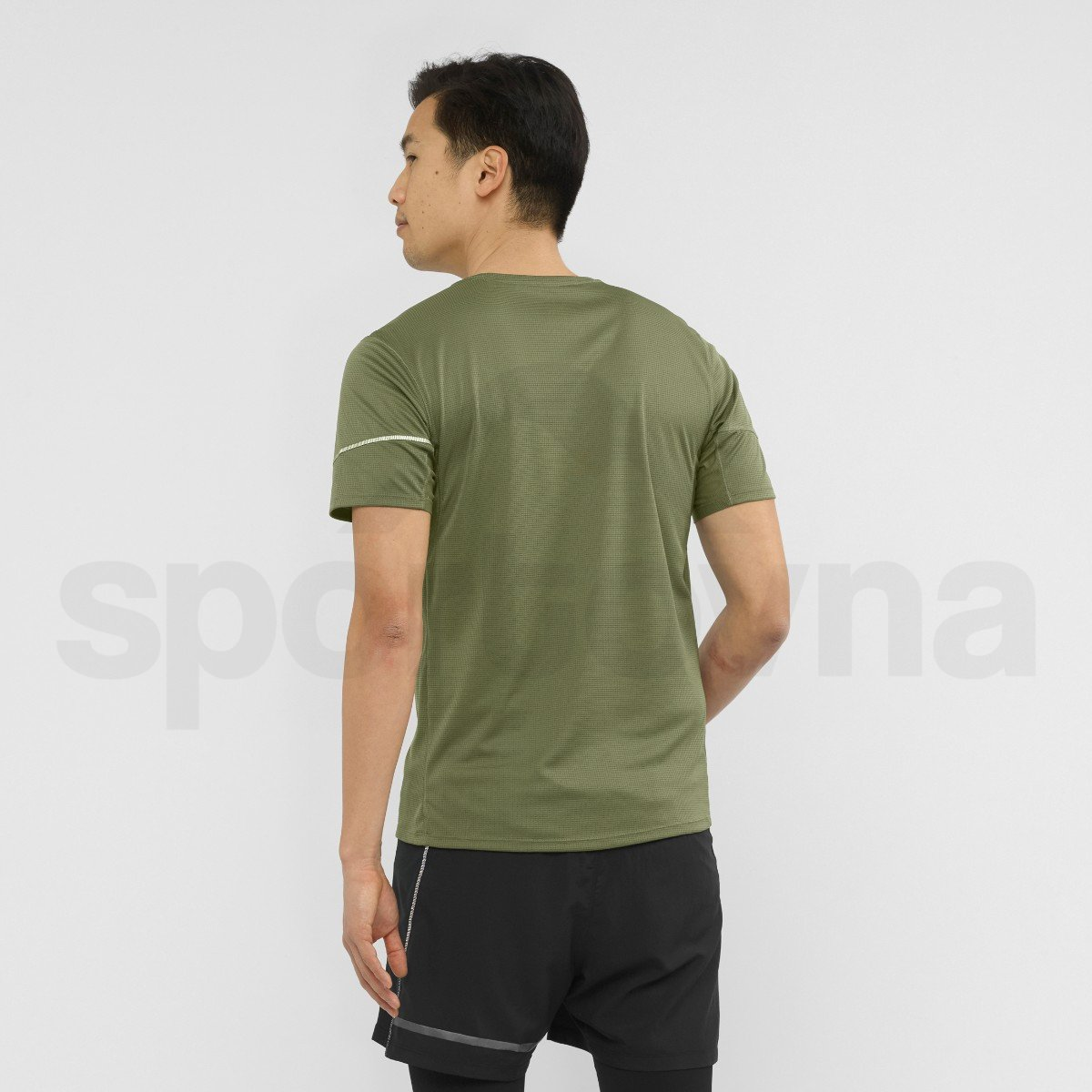 Tričko Salomon AGILE SS TEE M - zelená