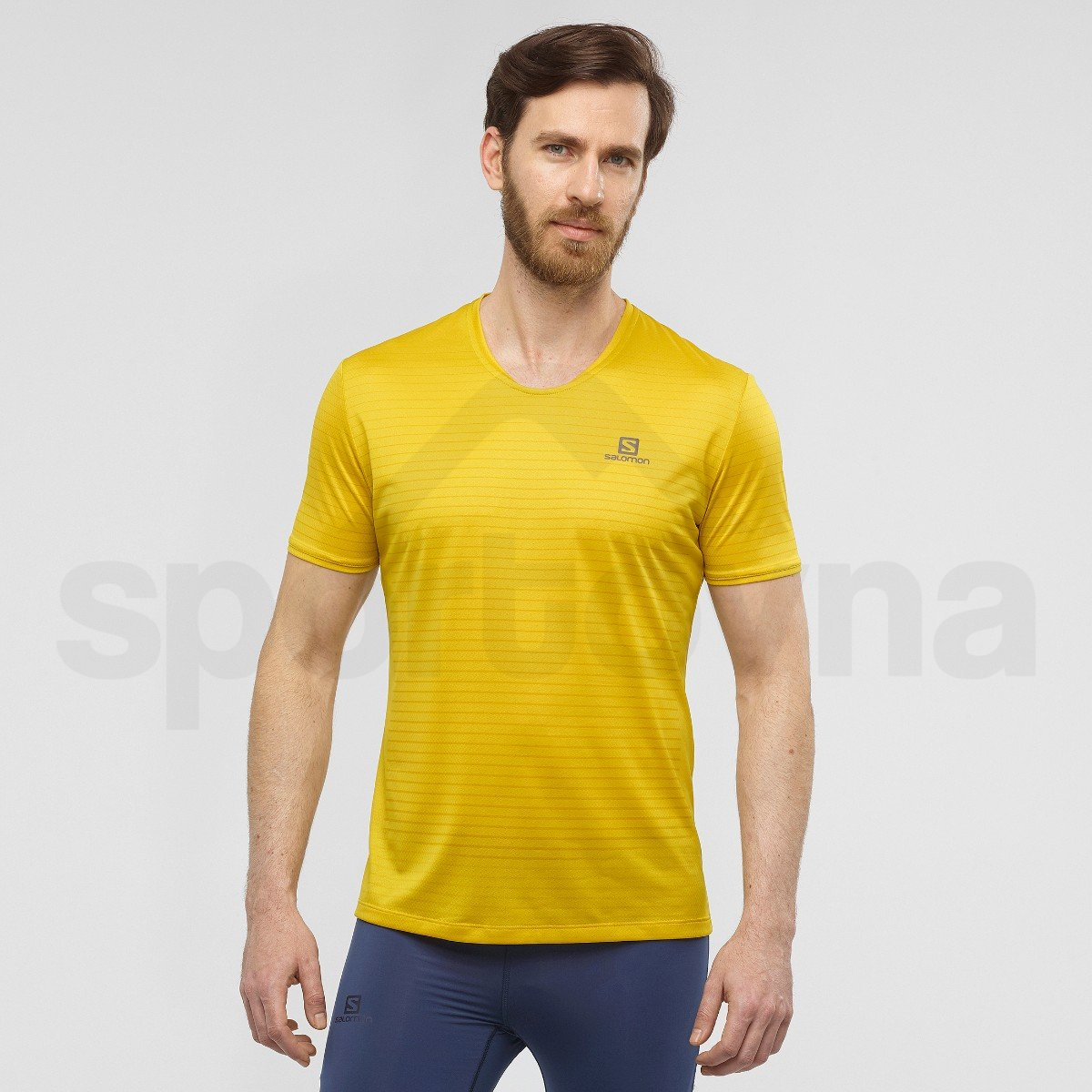 Tričko Salomon SENSE TEE M - žlutá