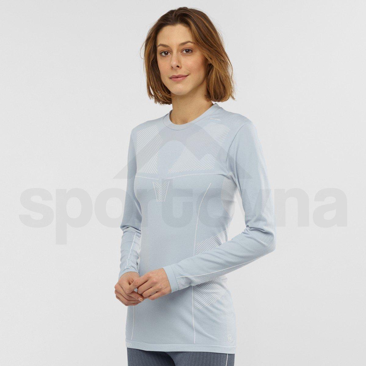 Termo tričko Salomon PRIMO WARM SEAMLESS Tee W - světle modrá