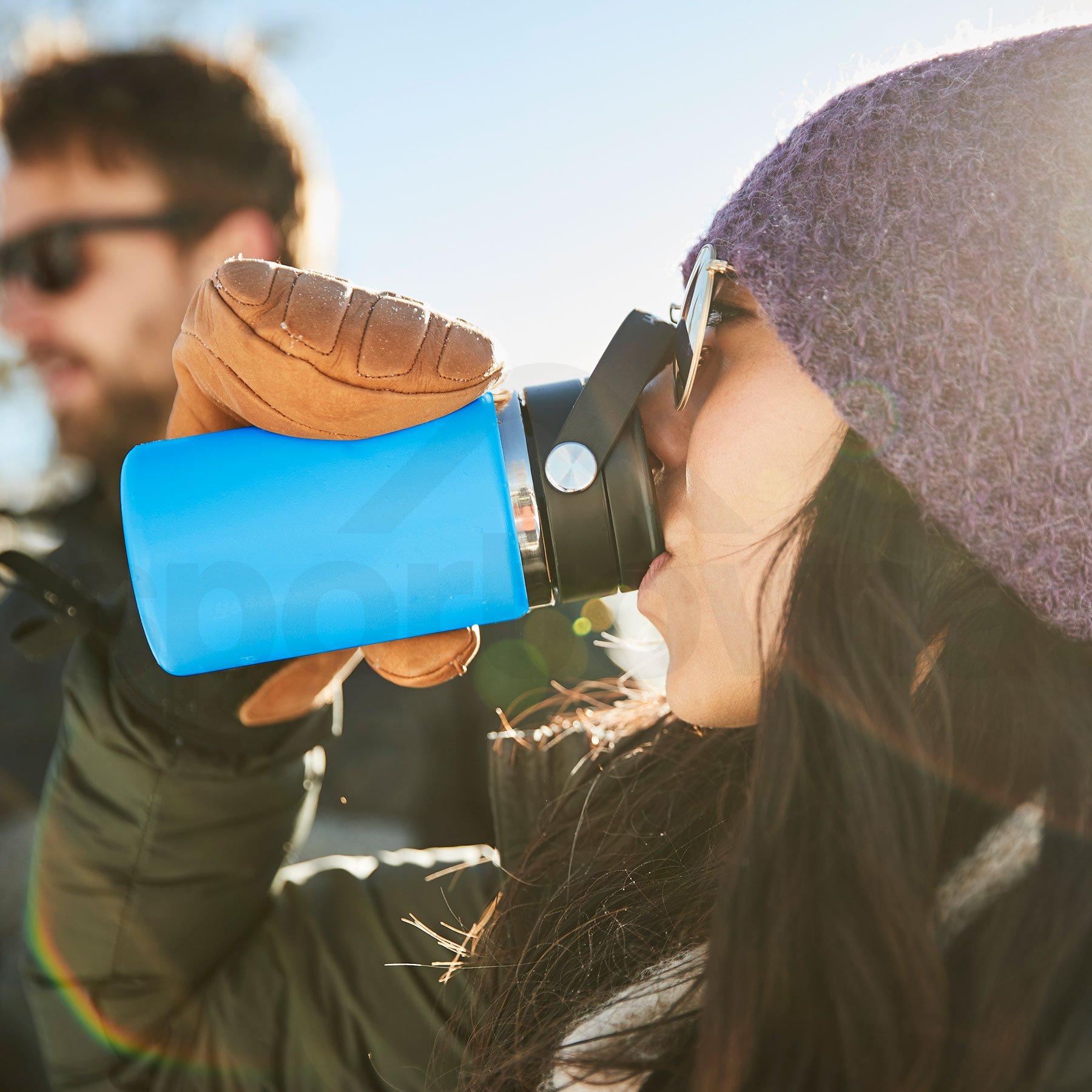 Termohrnek Hydro Flask Coffee Wide Mouth Flex Sip Lid 16 oz - modrá