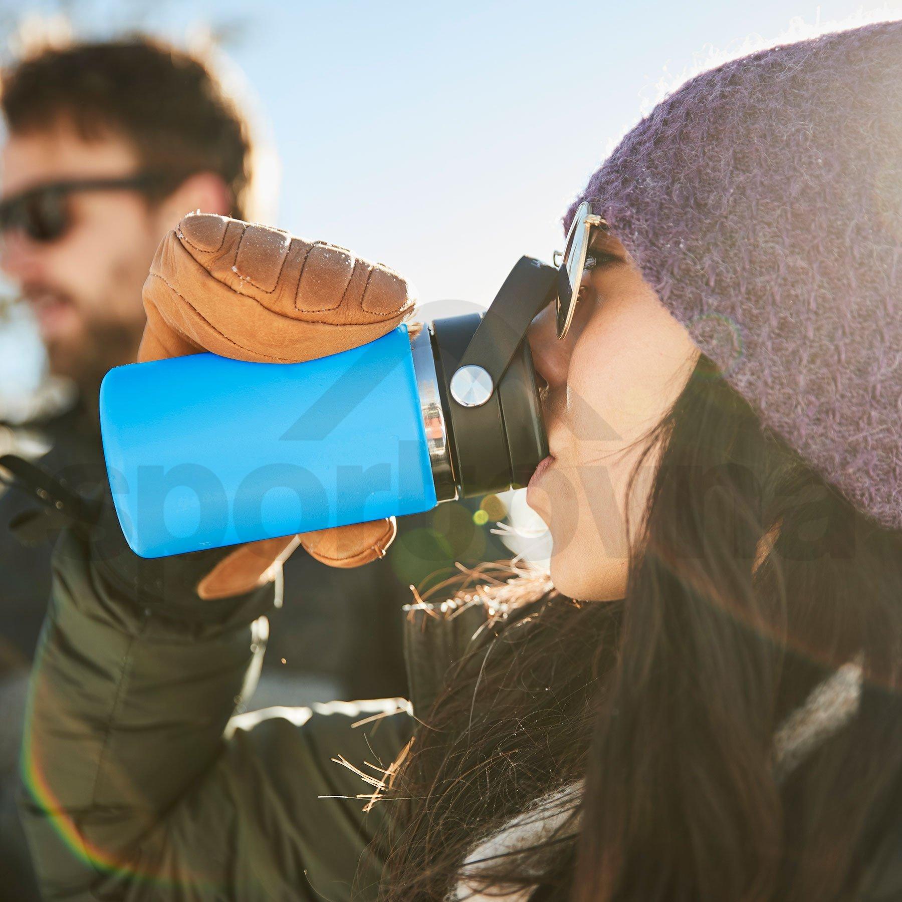 Termohrnek Hydro Flask Coffee Wide Mouth Flex Sip Lid 12 oz - modrá
