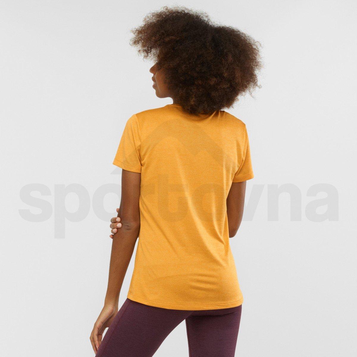 Tričko Salomon AGILE SS TEE W - žlutá