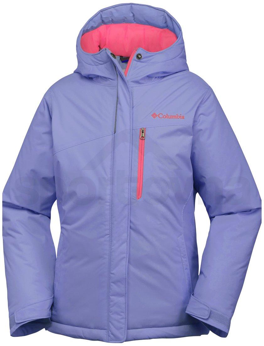 Bunda Columbia Alpine Free Fall Jacket Y - fialová