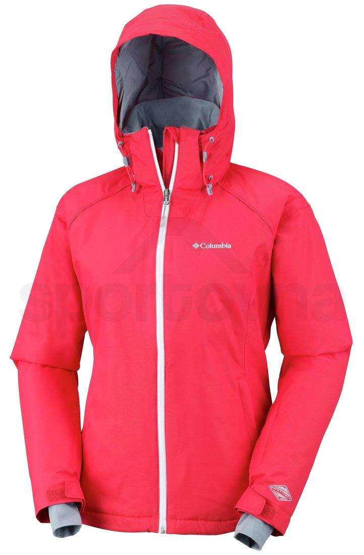 Bunda Columbia Snow Front™ Jacket W - červená