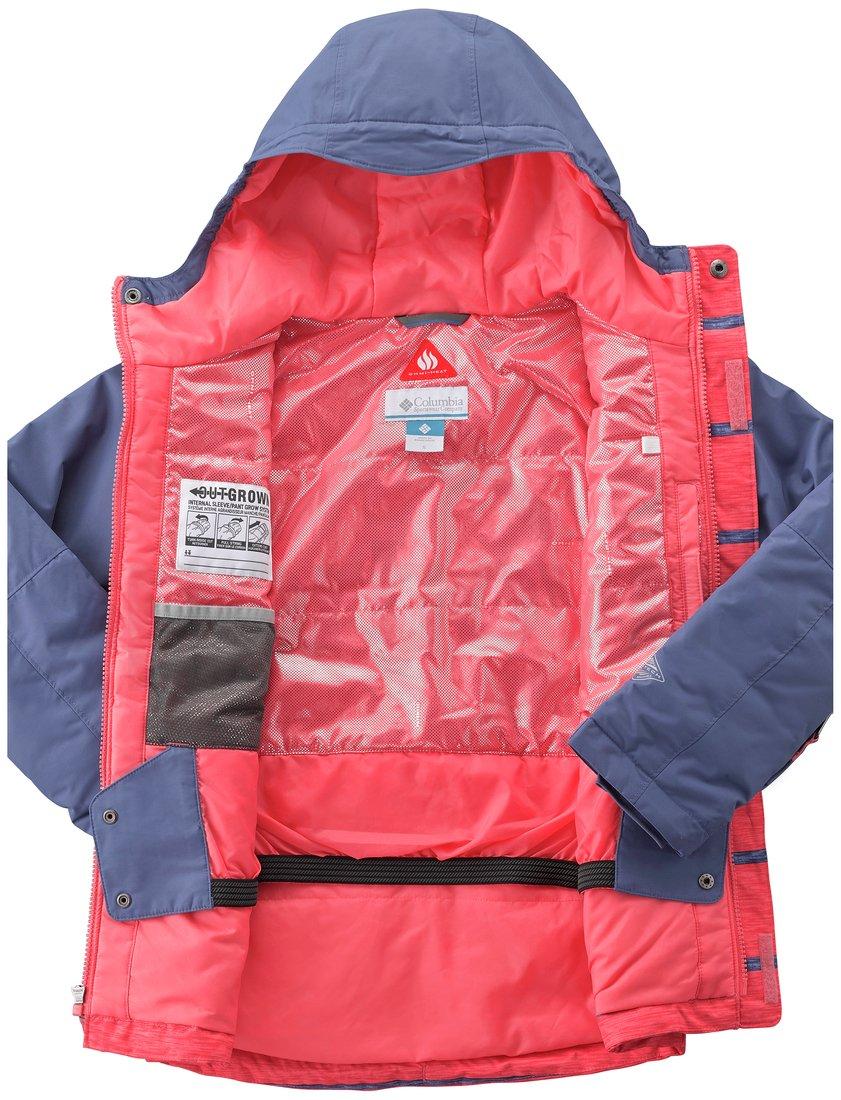 Bunda Columbia Slope Star™ Jacket Y - červená/modrá