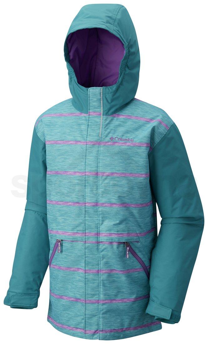 Bunda Columbia Slope Star™ Jacket Y - modrá/fialová