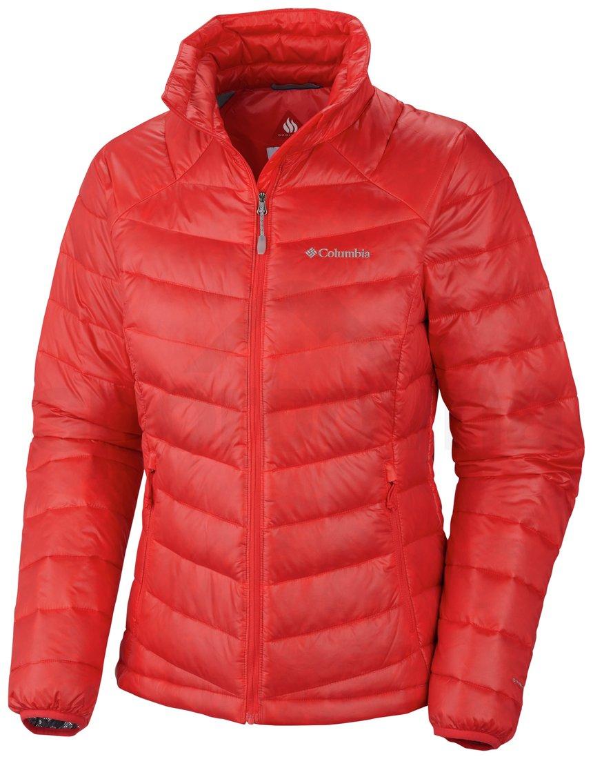 Bunda Columbia Platinum 860 TurboDown™ Down Jacket W - červená