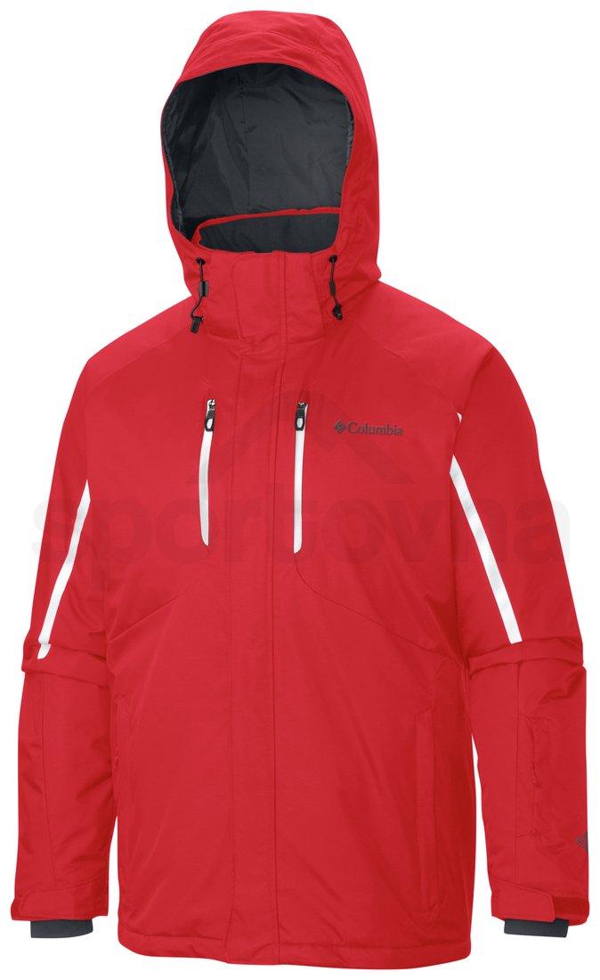 Bunda Columbia Cubist™ IV Jacket M - červená