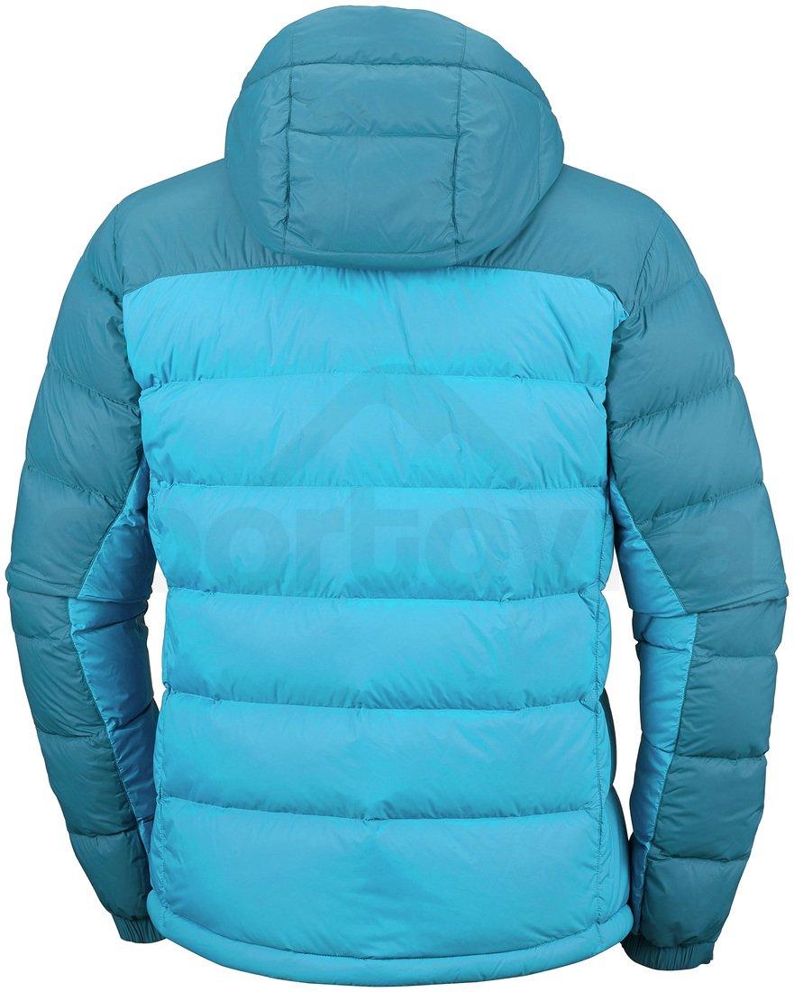 Bunda Columbia Quantum Voyage™ Hooded Jacket M - modrá