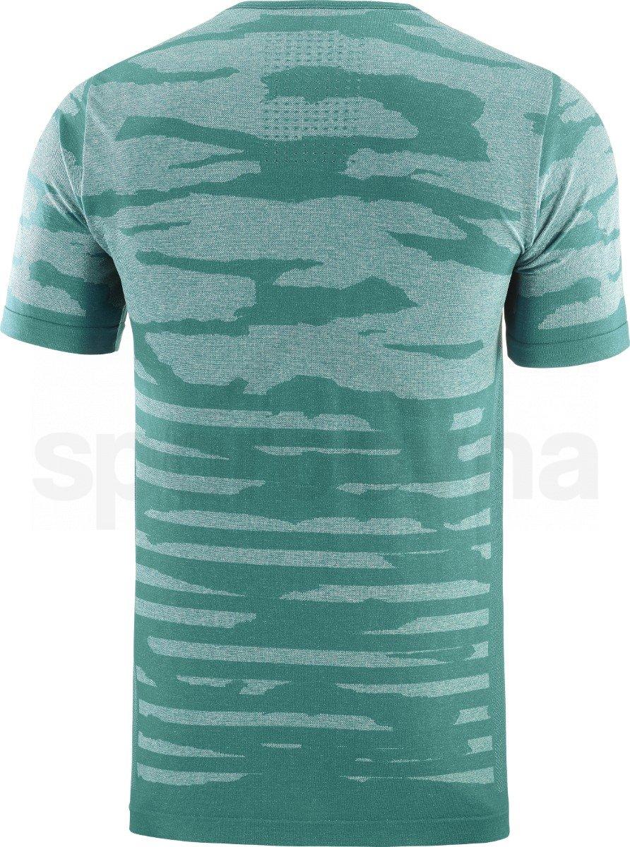 Tričko Salomon XA CAMO TEE M - modrá