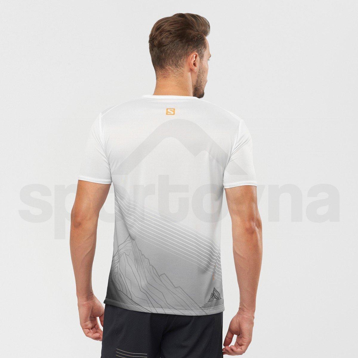 Tričko Salomon SENSE TEE M - bílá