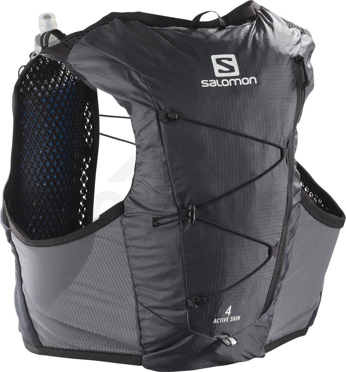 Batoh Salomon ACTIVE SKIN 4 SET M - šedá/černá