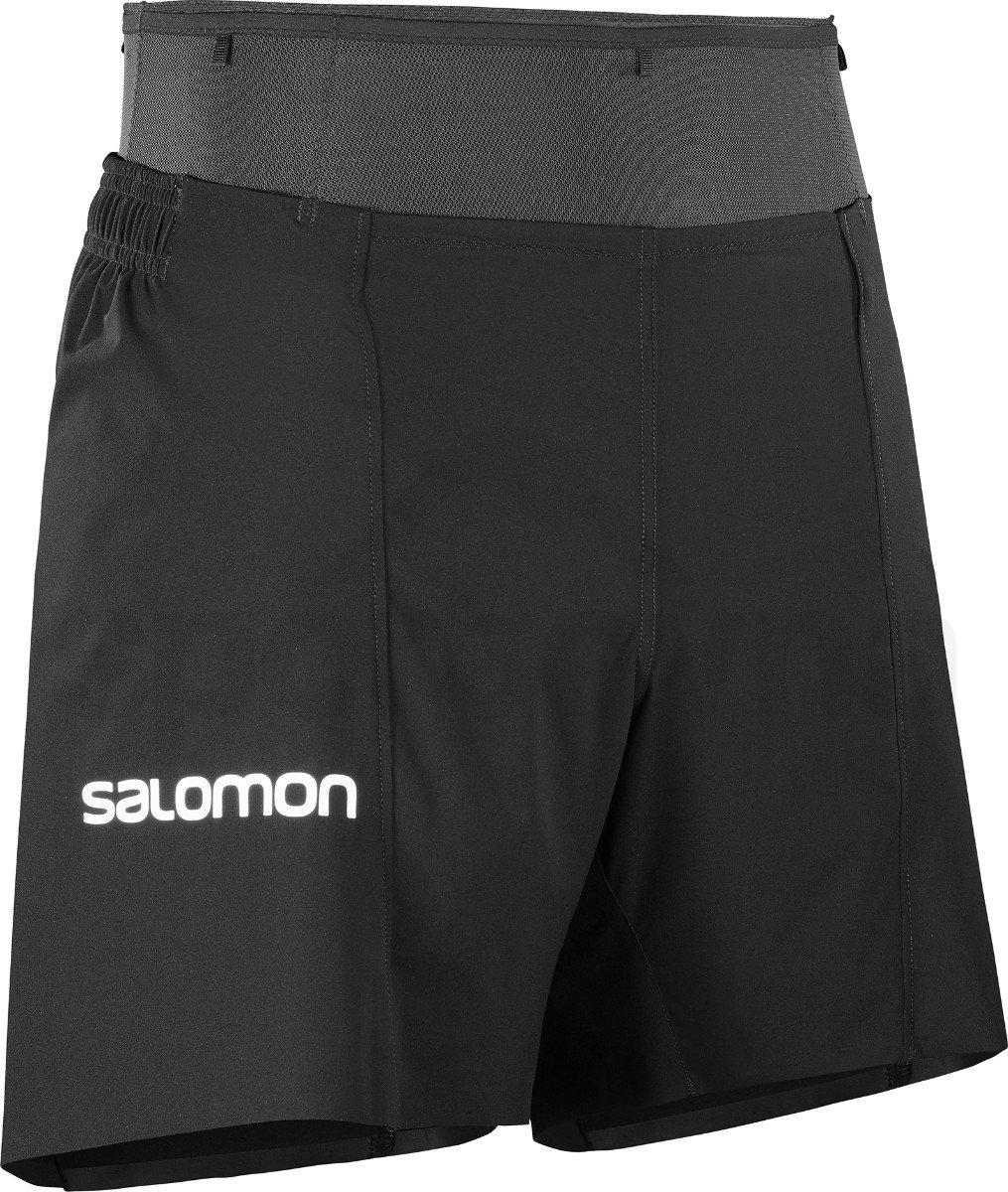 Kraťasy Salomon S/LAB SENSE SHORT 6 M - černá