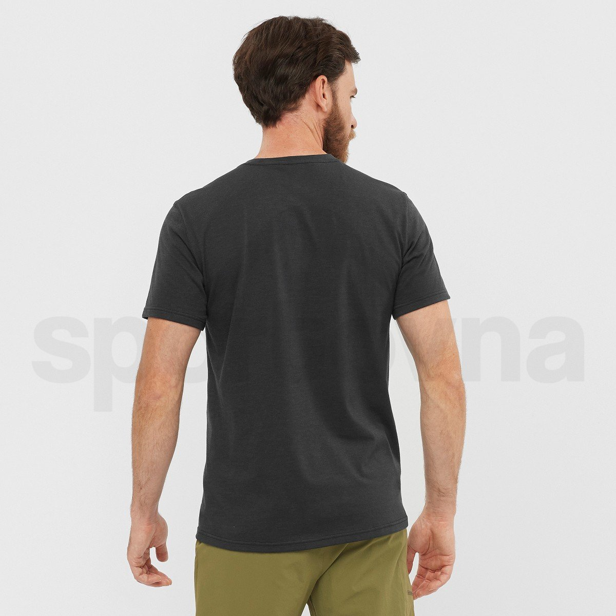 Tričko Salomon EXPLORE BLEND TEE M - černá