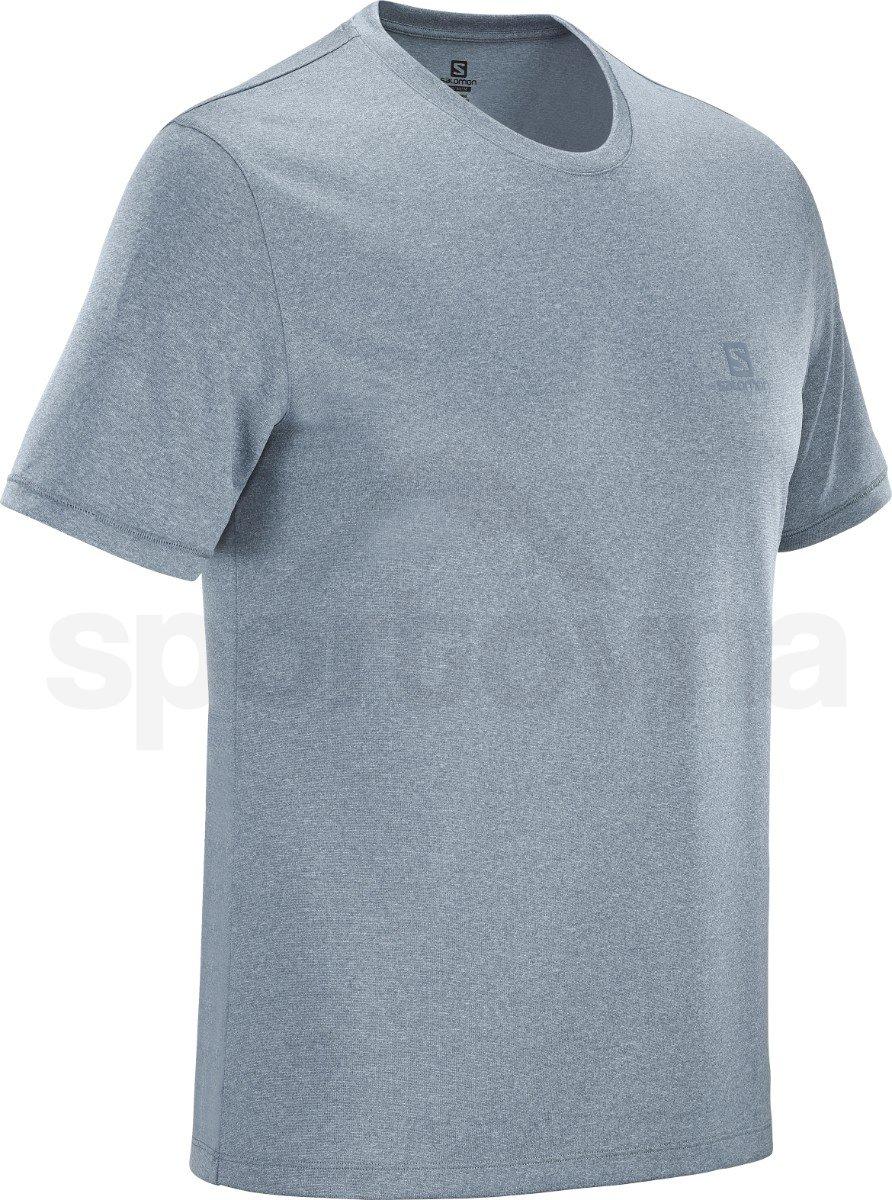 Tričko Salomon EXPLORE TEE M - šedá