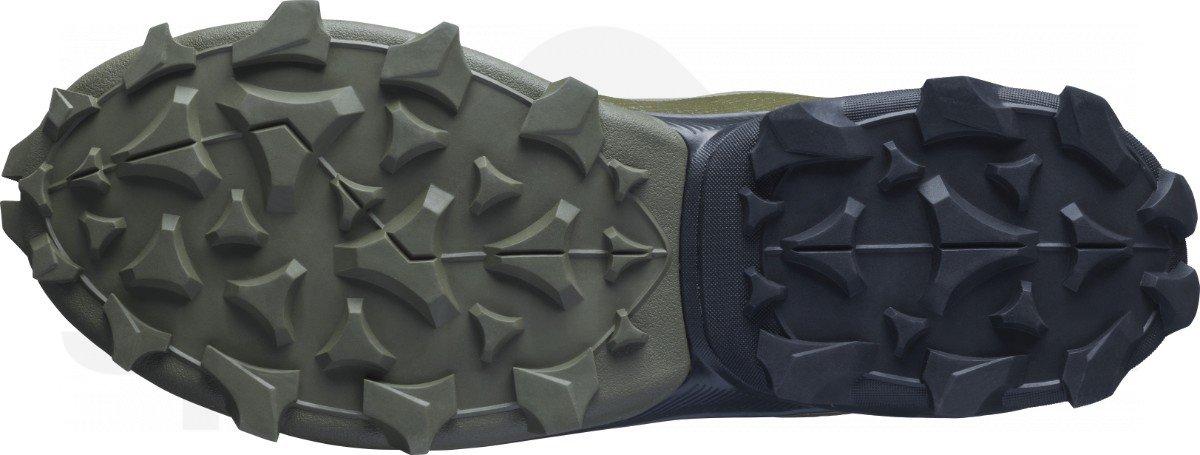Obuv Salomon CROSS OVER GTX M - zelená/šedá/černá
