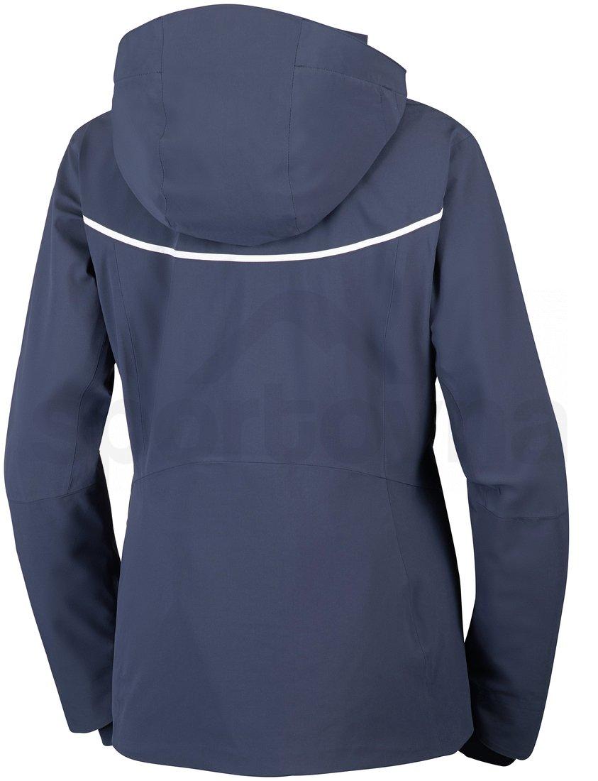 Bunda Columbia Millenium Blur™ Jacket W - tmavě modrá/bílá