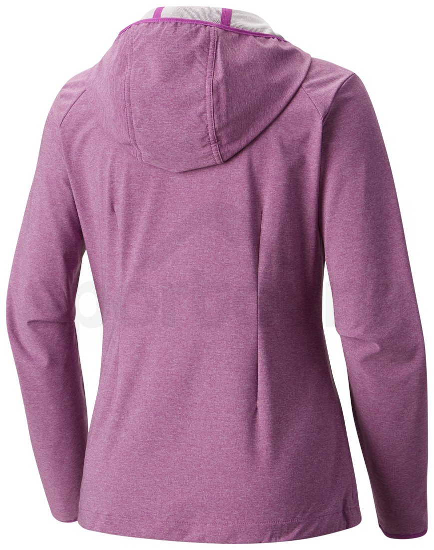 Bunda Columbia Heather Canyon™ Softshell Jacket W - fialová