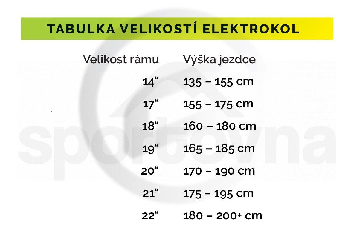 "Elektrokolo Crussis E-CITY 2.5 (2020) 468Wh 26"" - černá/zelená"