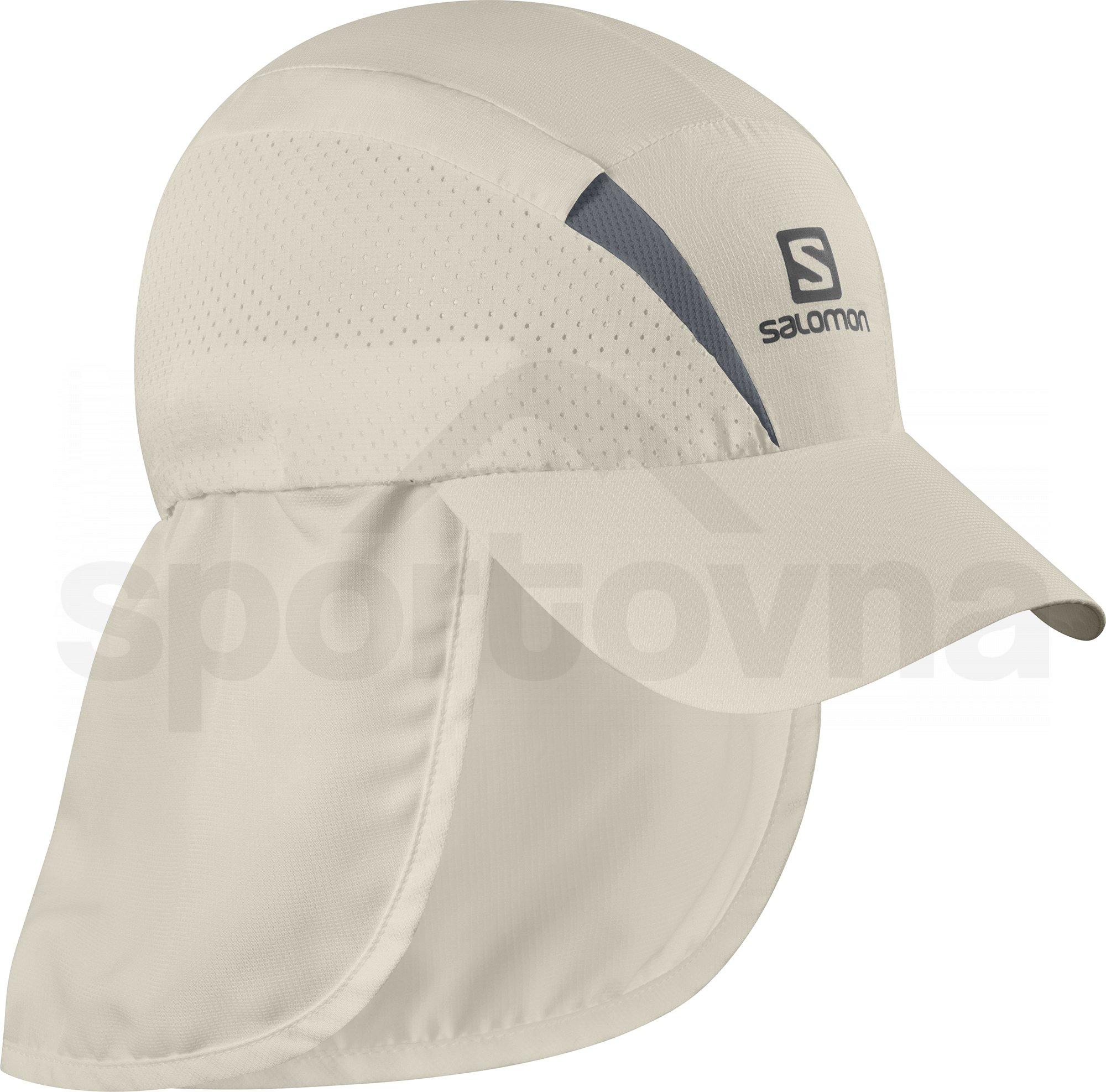 Kšiltovka Salomon XA+CAP - béžová