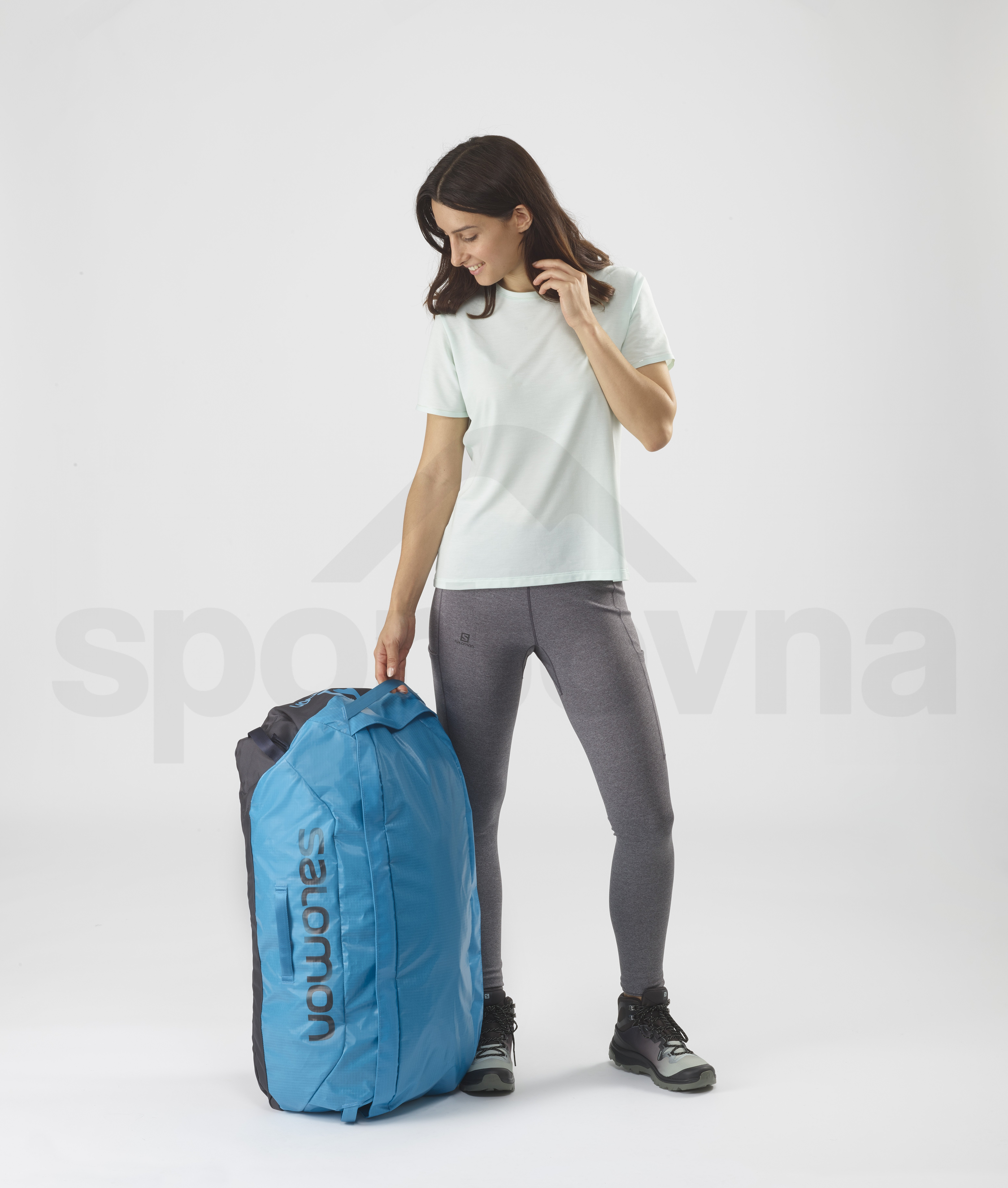Cestovní taška Salomon OUTLIFE DUFFEL 70 - modrá