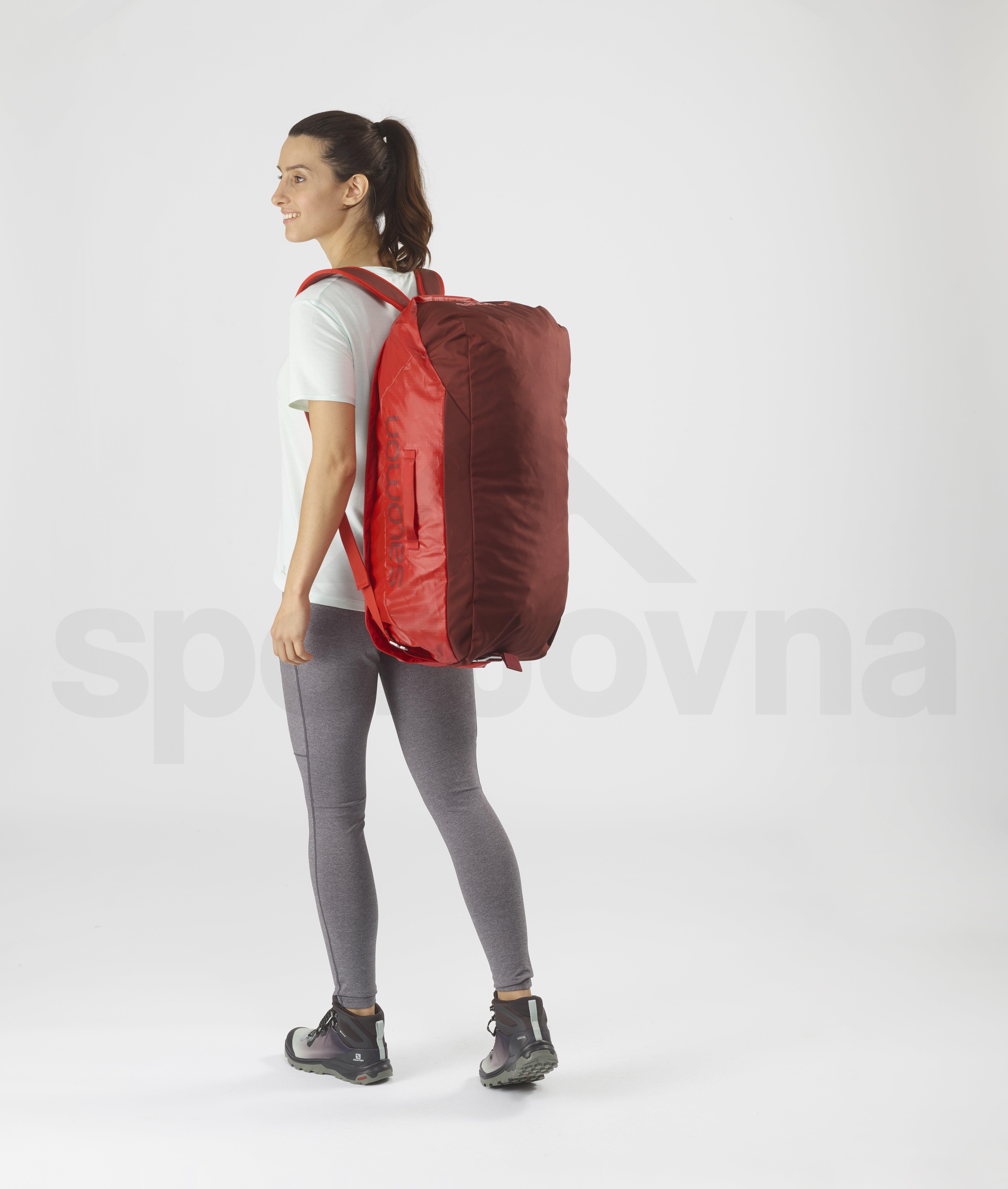 Cestovní taška Salomon OUTLIFE DUFFEL 45 - červená