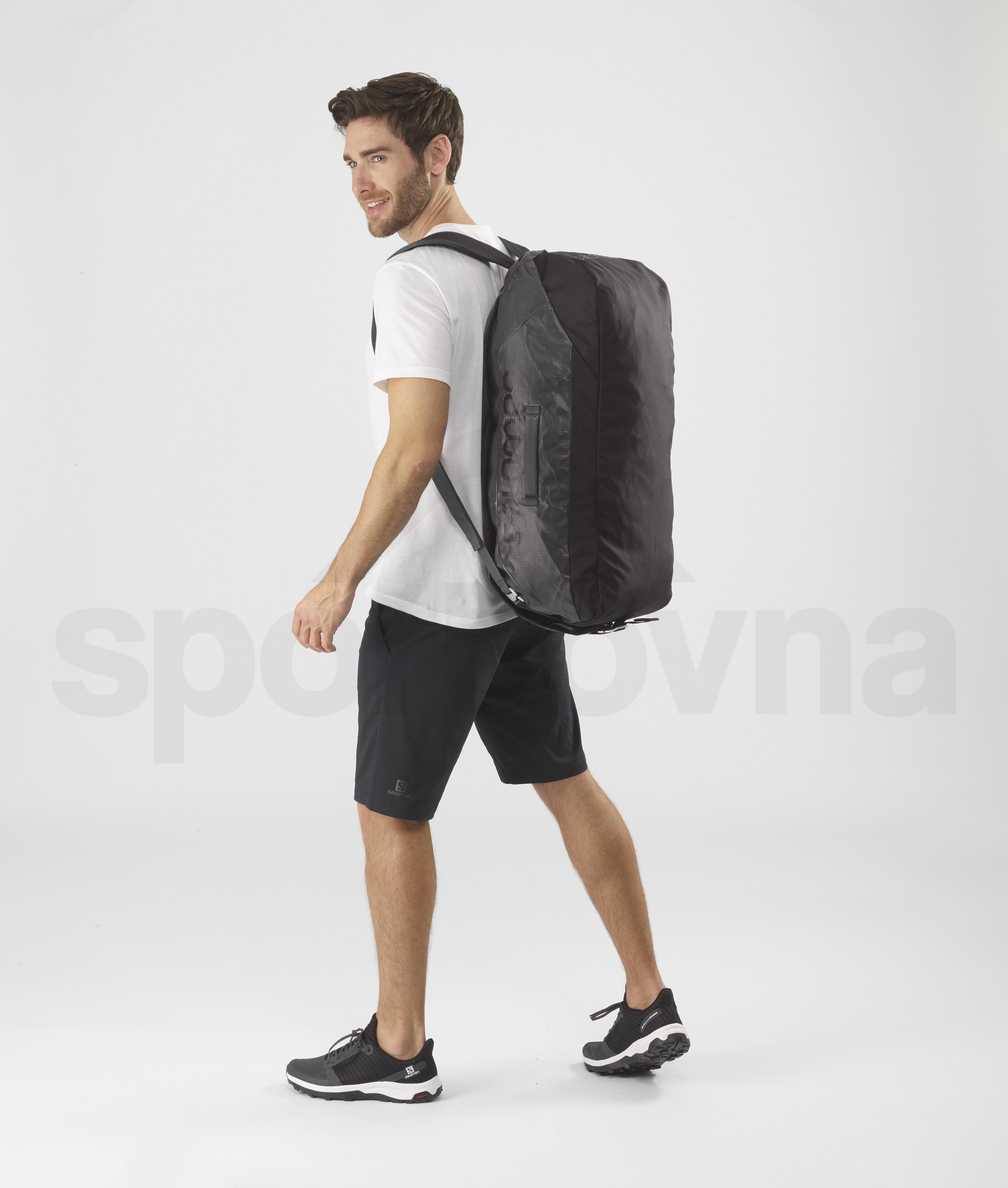 Cestovní taška Salomon OUTLIFE DUFFEL 45 - šedá/černá