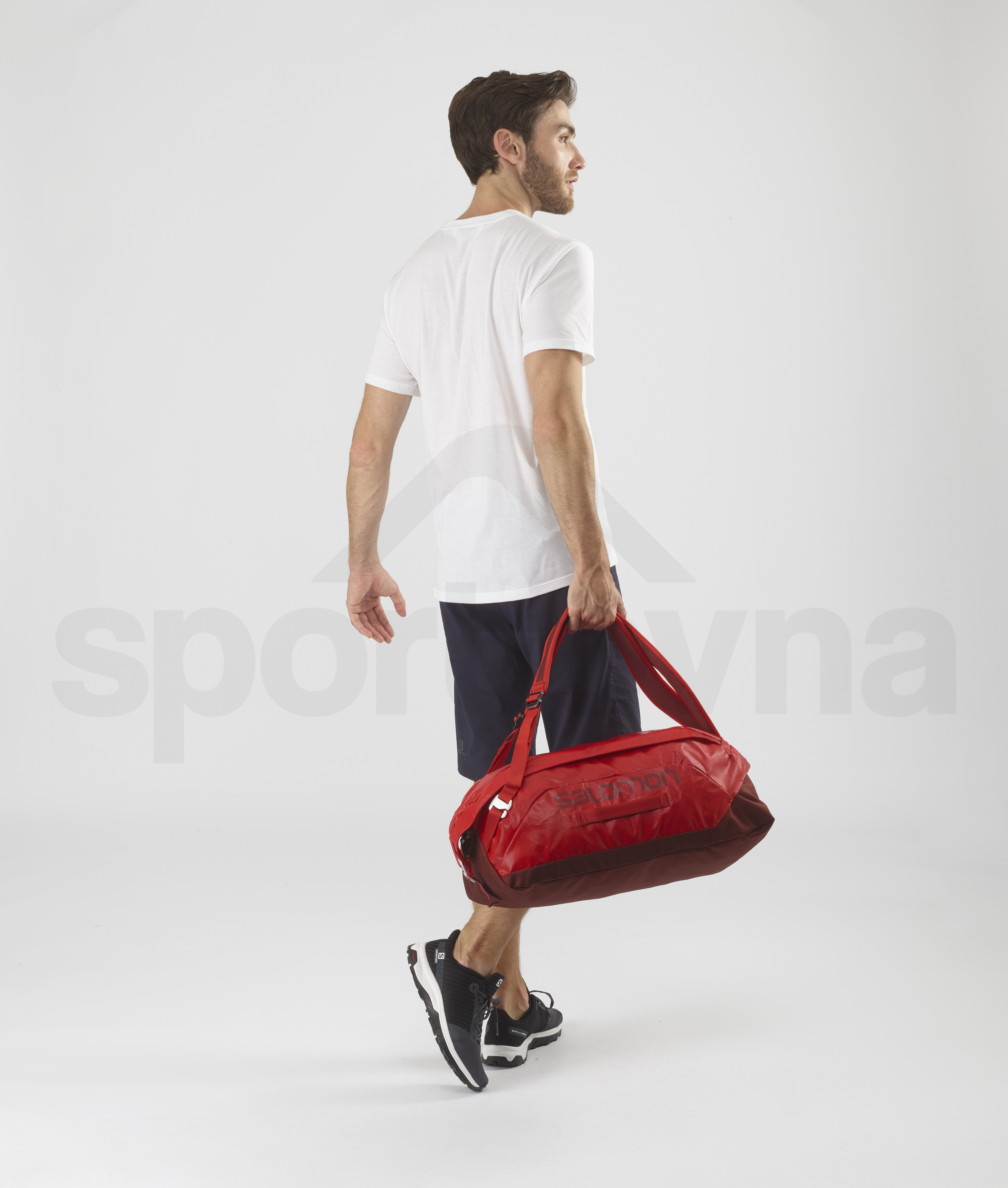 Cestovní taška Salomon OUTLIFE DUFFEL 25 - červená