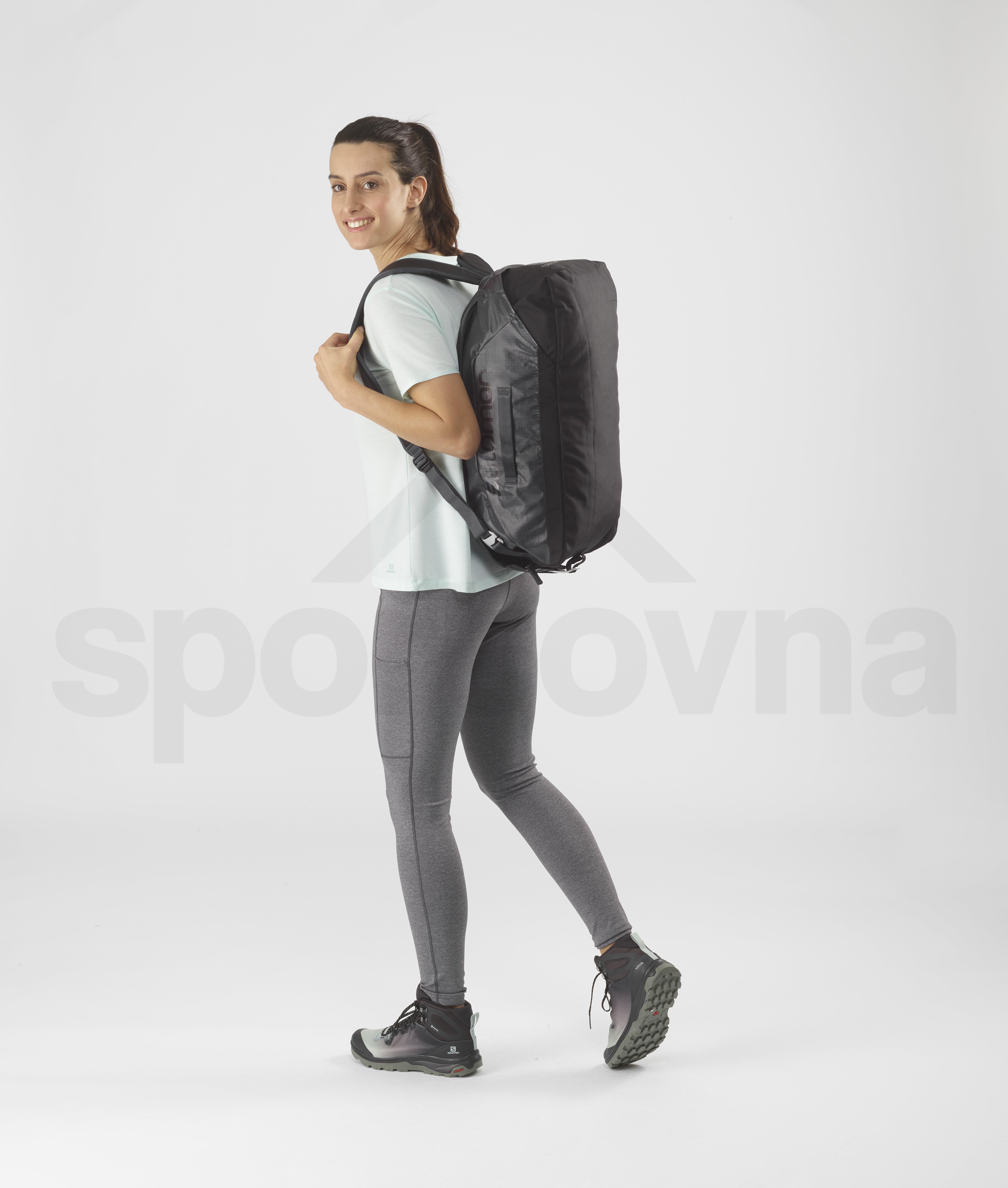 Cestovní taška Salomon OUTLIFE DUFFEL 25 - šedá/černá
