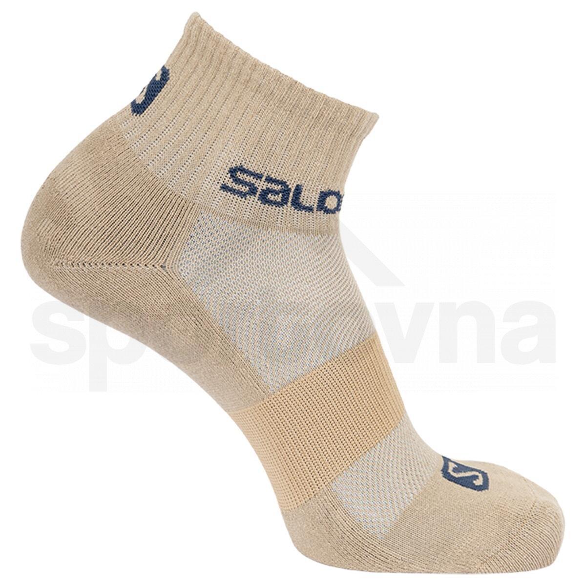Ponožky Salomon EVASION 2-PACK - modrá/oranžová